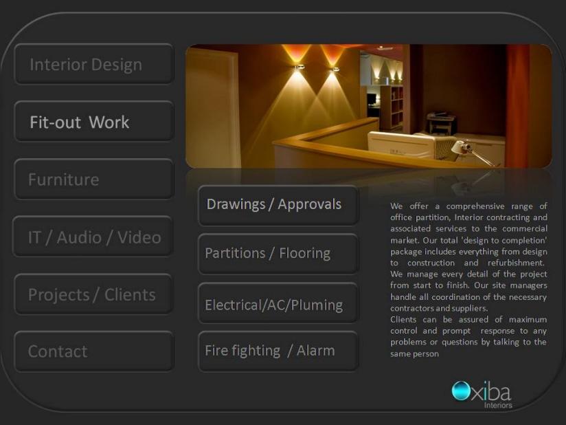 Oxiba Interiors Dubai Dubai Interior Design Design Management