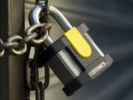 Brinks Commercial Series Padlock