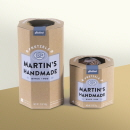 Martin's handmade packaging