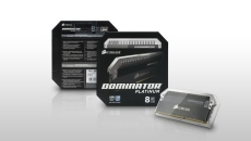 Corsair ® Dominator DRAM Platinum Package Design