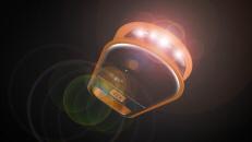 Solar LED Mini Flashlight