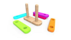 Wooden Stacker Toy
