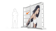New Event Merchandising System for Nike