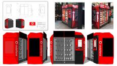 Vodafone Vending Machine/Aesthetic