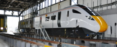 The Class 800 enters production and DCA's full size mock up is approved