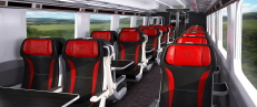 Virgin Trains unveils DCA's interior design proposal for it's new Azuma trains