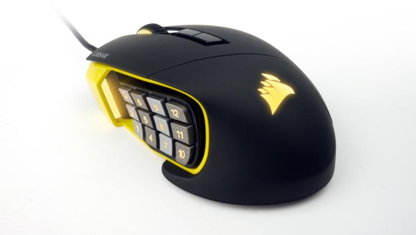corsair scimitar gaming mouse