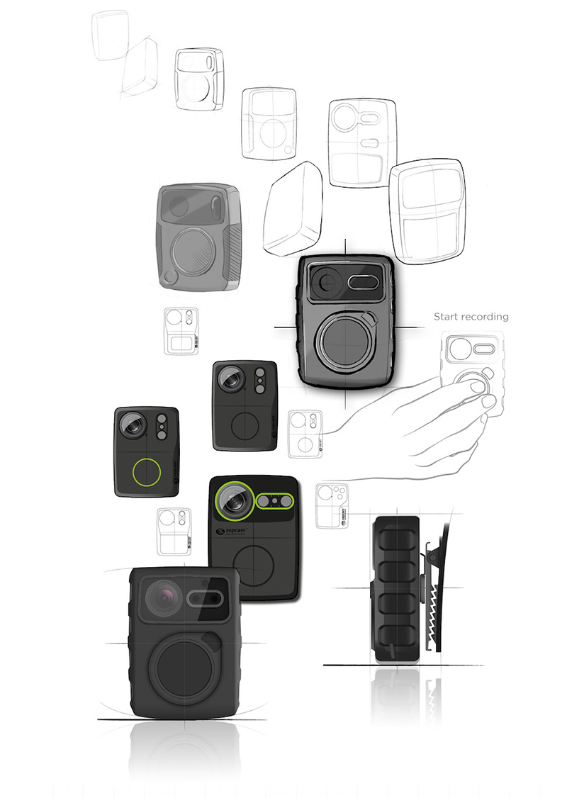 Slimdesign Amsterdam Netherlands Industrial Design Engineering Working Of Digital Cameras The Small Rugged And Lightweight Camera Is Capable Filming Day Nightit Enables Individuals For Instance In Law Enforcement