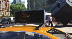 Moment M17 digital car top advertising display