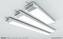 A RANGE OF LED LIGHTING FIXTURES