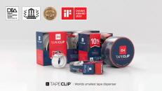 TapeClip: World's Smallest Tape Dispenser