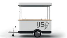 Solar Ice Cream Cart