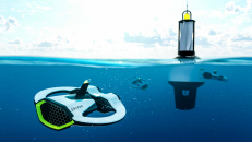 Microplastic Sensing Drone