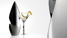 Nambe Twist Martini Shaker
