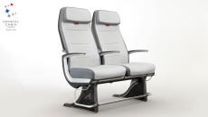 JAZZ Economy Class Airline Seat