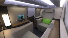 Formation Lie Flat Cabin Concept